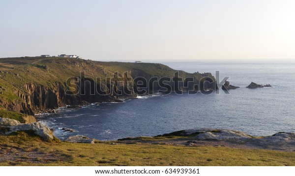 Lands End in Cornwall England