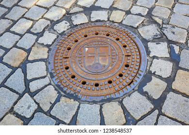 Landsberg, Bayern/Germany - 04 07 2018:  Landmarks of the city Landsberg am Lech