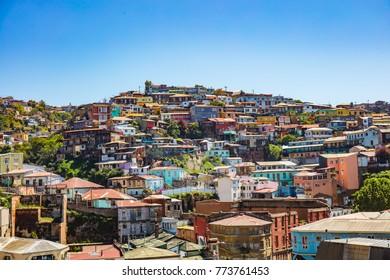 Landscape of Valparaíso