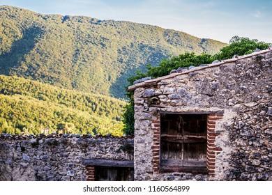 Landscape of Abruzzo (Pereto, Italy)