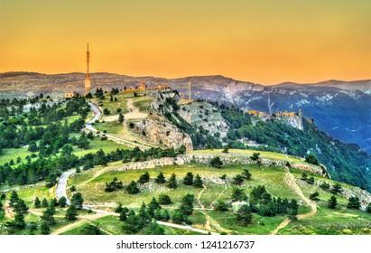 Landscape of Ai-Petri, a mountain in Crime