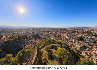 Landscape from Alhambra