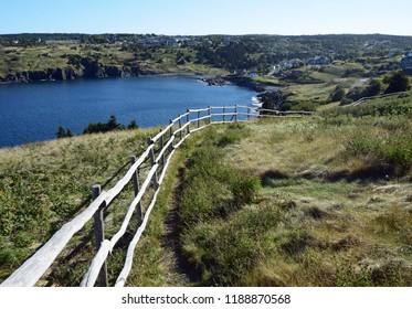 landscape along the Killick Coast; East Coast Father Troy's Trail near Torbay, Avalon Peninsula, NL Canada