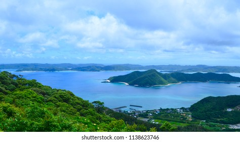 Landscape of Amami island, Kagoshima prefecture, Japan