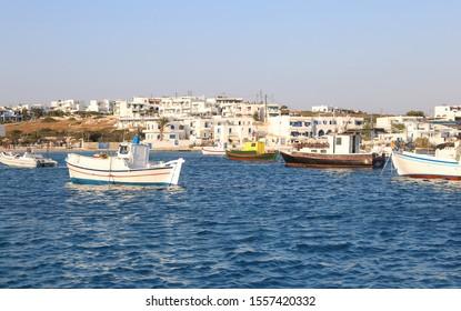 landscape of Ano Koufonisi island Cyclades Greece