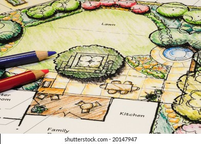 Landscape Architect Sketch