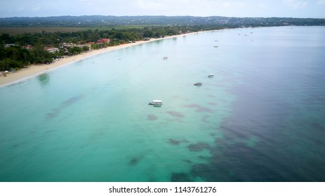 Landscape, Arial Photgraphy The Beach of Jamaica
