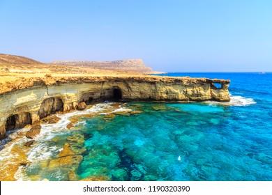 Landschaft rund um Kap Greco bei Ayia Napa, Zypern