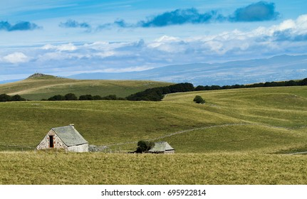 landscape from Aubrac