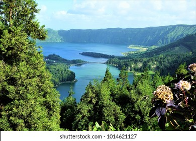 Landscape at Azores