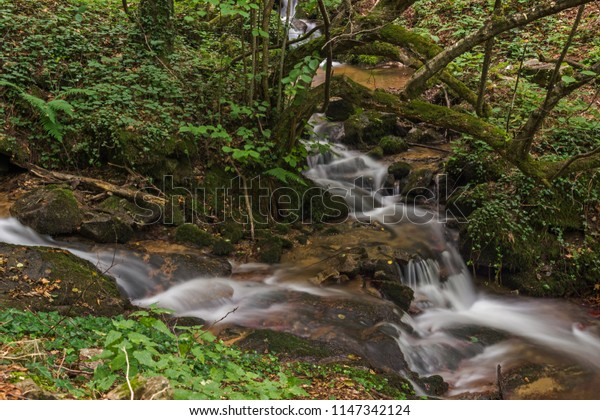 Landscape with Barlen Dere River in Belasica Mountain, Novo Selo, Republic of Macedonia