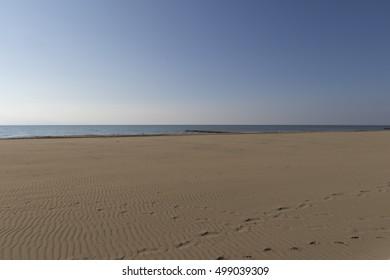 landscape beach and sea