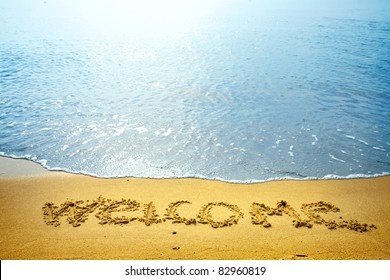 Landscape, beach, Welcome!