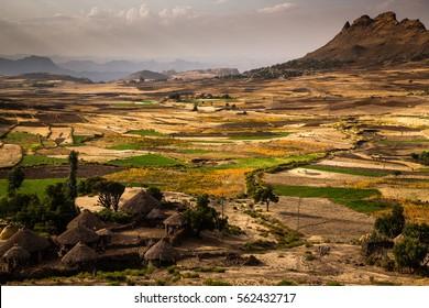 Landscape between Lalibela and Mekele - Ethiopia