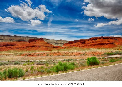 A landscape of the Bighorn Mountains in Wyoming.