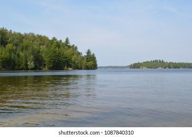 Landscape in Boundary Waters