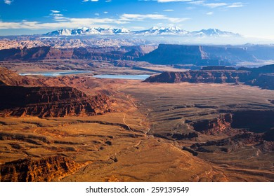 The landscape of Canyonlands National Park