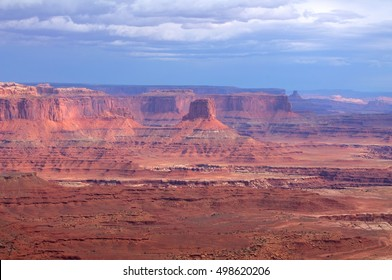 Landscape of the Canyonlands National Park