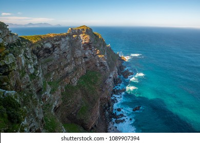 Landscape of Cape of Good Hope, the most southwestern point of the african continent, near Cape Town, South Africa.