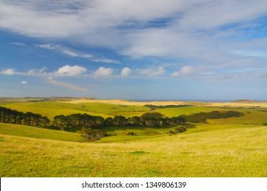 Landscape at Cape Reinga, New Zealand, North Island