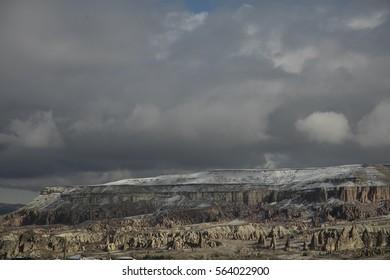 landscape from cappadocia
