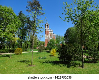 Landscape with a chapel-burial vault of the Svyatopolk-Mirsky is a monument of architecture in the urban village of Mir, Belarus. Located near Mir Castle in the English Park.