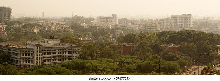 The Landscape city Pune. India