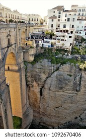 Landscape of the city of Ronda, Malaga, Spain