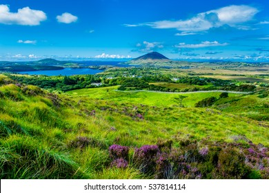 Landscape and Coast Connemara in Ireland