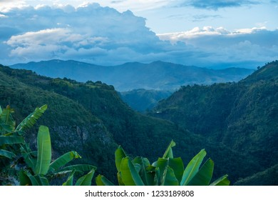 Landscape of the Colombian Highlands, Tierradentro, Colombia, South America