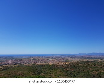 landscape of the countryside of Sardinia