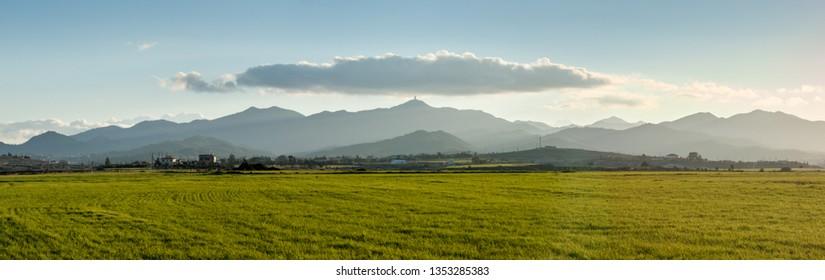 landscape of cyprus near Nicosia