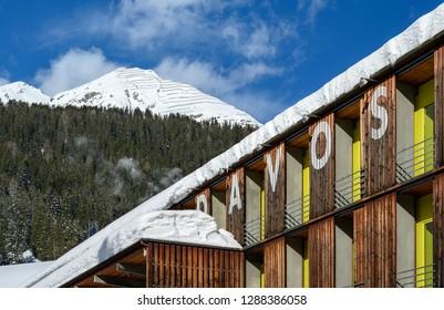 Landscape of Davos.