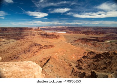 Landscape in Dead Horse State Park, Utah.