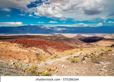 Landscape at Death Valley National Park, California.