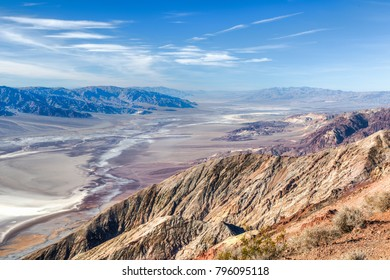 Landscape of Death Valley National Park from Dante's View, California, United States