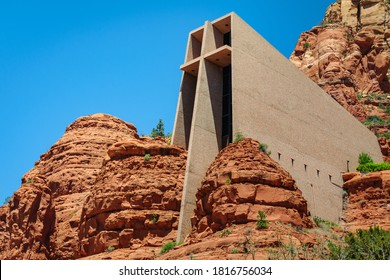 Landscape, Desert Buttes at Sedona, Arizona