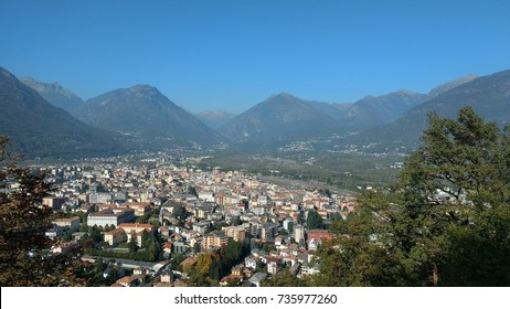 Landscape Domodossola City - North Italian
