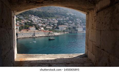 The landscape of Dubrovnik old town