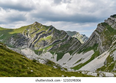 Landscape of the Durmitor mountains in Montenegro, Europe. Mountain landscape.
