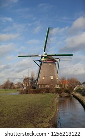 Landscape with Dutch mill