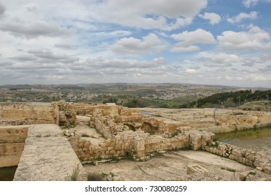 Landscape of the environs of the ancient city of Jerusalem
