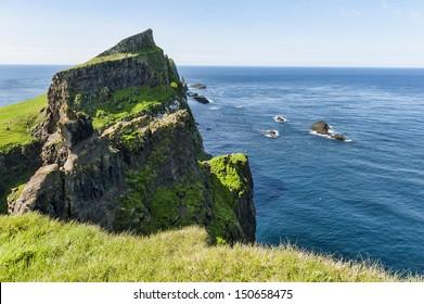 Landscape in the Faroe Islands