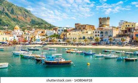 Landscape with Forio, Ischia island, Italy