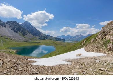 Landscape in Formazza Valley, Italy.
