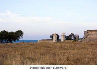 Landscape at Fortifications of Vauban, France