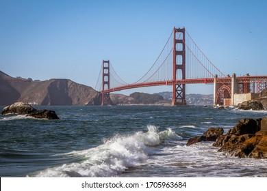 Landscape of the Golden Gate Bridge