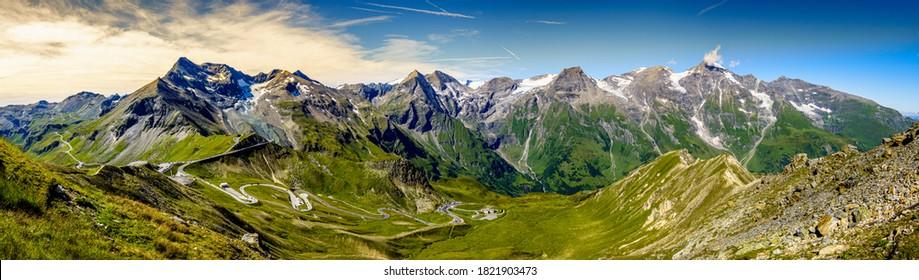 Landschaft am Grossglockner Berg in Österreich - Foto