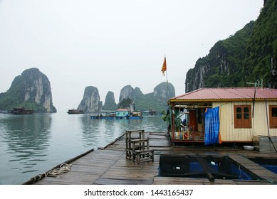 The landscape from Ha Long Bay