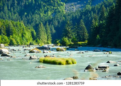 Landscape of Haines Alaska,USA